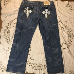 The lab of denim west coast 90's jeans